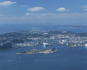 風師山より下関遠望  北九州市の写真素材 [FYI04023820]