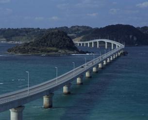 角島大橋(角島)の写真素材 [FYI04023835]