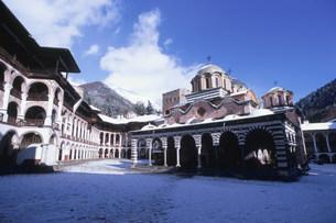 リラの僧院の写真素材 [FYI04024556]