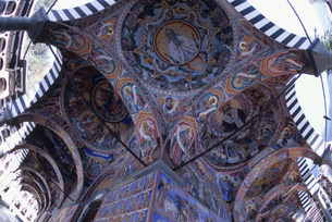 リラの僧院の写真素材 [FYI04024557]