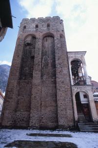 リラの僧院(フレリョの塔)の写真素材 [FYI04024560]