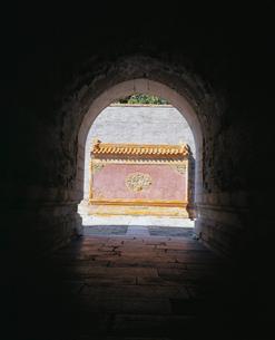 清西陵 泰陵明楼坑道の写真素材 [FYI04025747]