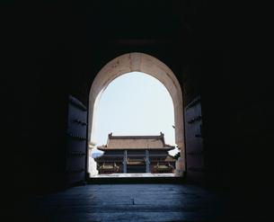 清西陵 泰陵明楼坑道の写真素材 [FYI04025750]