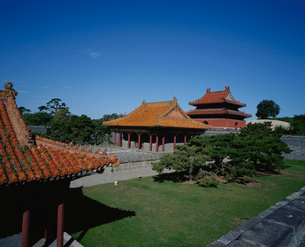 清昭陵方城より望む伽藍全景の写真素材 [FYI04025841]