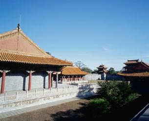 清福陵方城より望む伽藍の写真素材 [FYI04025864]