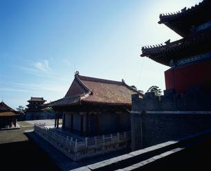 清福陵方城より望む伽藍の写真素材 [FYI04025865]