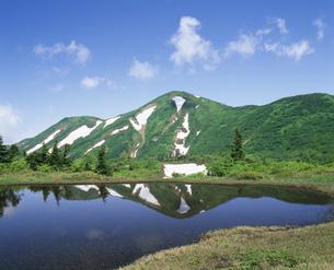 夏の火打山 上信越高原国立公園の写真素材 [FYI04026011]