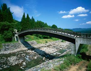 北国街道関川の関所跡の写真素材 [FYI04026078]