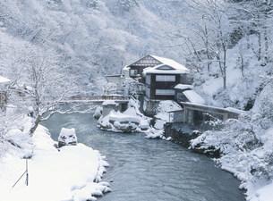 大沢温泉山水閣の写真素材 [FYI04026381]