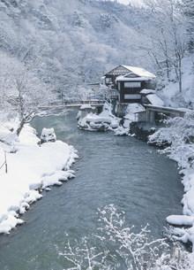大沢温泉山水閣の写真素材 [FYI04026383]