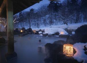 松川温泉松川荘の写真素材 [FYI04026385]