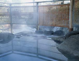 修善寺温泉の独鈷の湯の写真素材 [FYI04026455]