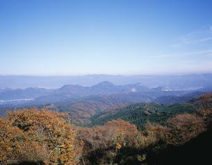 だるま山高原から望む伊豆の山々の写真素材 [FYI04026470]