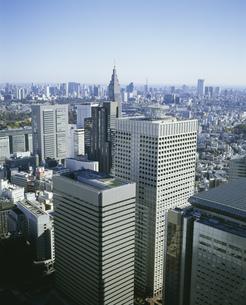 西新宿から望む港区方面の写真素材 [FYI04026741]