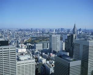 西新宿から中央区港区方面を望むの写真素材 [FYI04026895]