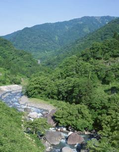 小滝川ヒスイ峡の写真素材 [FYI04026960]