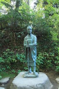 松尾芭蕉の像の写真素材 [FYI04027207]