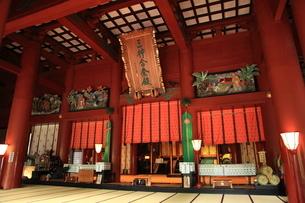 羽黒山 三神合祭殿の写真素材 [FYI04027215]