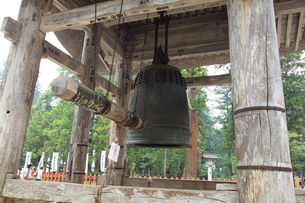 羽黒山 大鐘の写真素材 [FYI04027221]