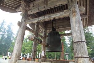 羽黒山 大鐘の写真素材 [FYI04027222]