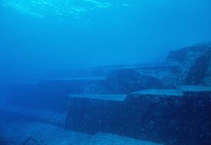 海底遺跡ポイント メインテラスの写真素材 [FYI04027248]