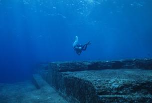 与那国島海底遺跡ポイントの写真素材 [FYI04027249]
