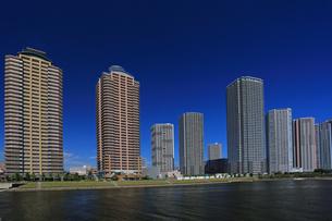 東京ベイエリアのマンション群 東雲の写真素材 [FYI04027548]