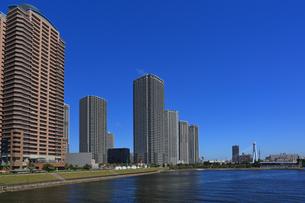 東京ベイエリアのマンション群 東雲の写真素材 [FYI04027551]