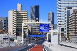 首都高速道路 晴海線の写真素材 [FYI04027677]