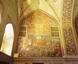 チェヘル・ソトゥーン宮殿の写真素材 [FYI04027849]