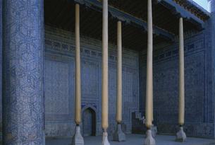 タシュハウリ宮 ヒワ ウズベキスタンの写真素材 [FYI04027892]