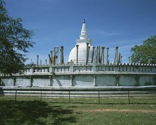 トゥーパーラーマ仏塔 スリランカの写真素材 [FYI04027906]