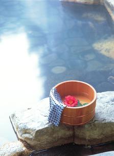 露天風呂泡の湯の写真素材 [FYI04028136]