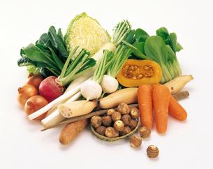 秋冬野菜集合の写真素材 [FYI04028187]
