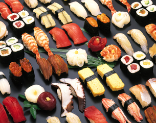 いろいろな寿司の写真素材 [FYI04028202]