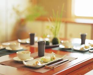 和風の食卓の写真素材 [FYI04028255]