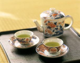古伊万里  煎茶セットの写真素材 [FYI04028286]