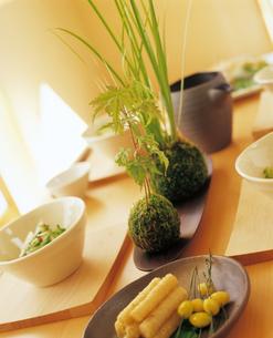 和風の食卓の写真素材 [FYI04028342]