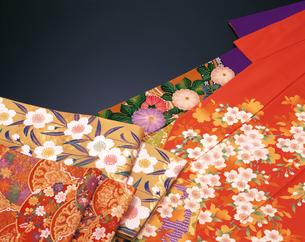 和風イメージ 着物と帯の写真素材 [FYI04028414]