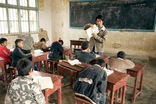 土家族の小学校授業風景の写真素材 [FYI04028932]