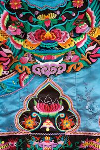 土家族盛装民族衣装部分の写真素材 [FYI04028939]