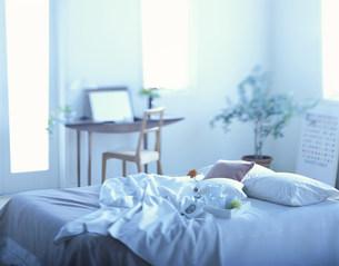 ベッドとドレッサーの写真素材 [FYI04029133]