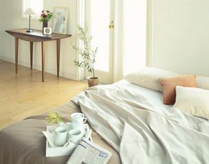 ベッドとドレッサーの写真素材 [FYI04029135]