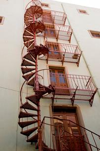 らせん階段の写真素材 [FYI04029299]