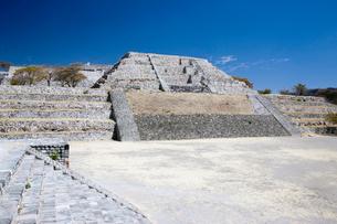 ソチカルコ遺跡のピラミッドの写真素材 [FYI04029317]