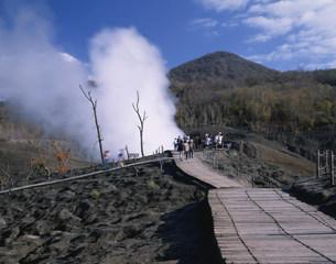西山火口の写真素材 [FYI04029426]