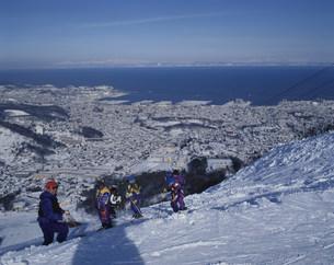 小樽天狗山スキー場の写真素材 [FYI04029564]
