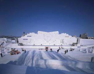 冬まつり大雪像の写真素材 [FYI04029656]