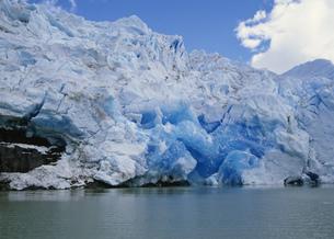 グレイ氷河の先端部 パイネ国立公園の写真素材 [FYI04029764]