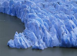 グレイ氷河 パイネ国立公園の写真素材 [FYI04029768]